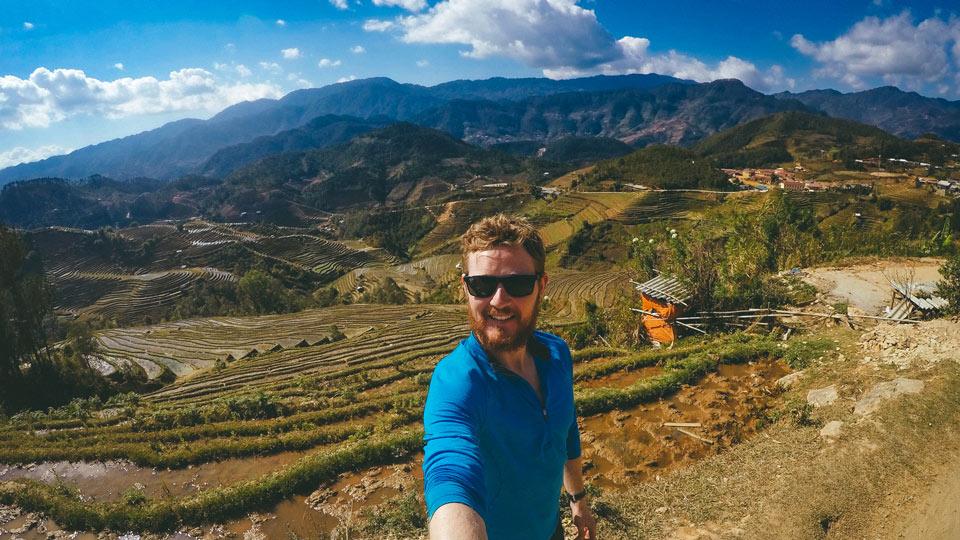 Michael Pinatton, digital nomad
