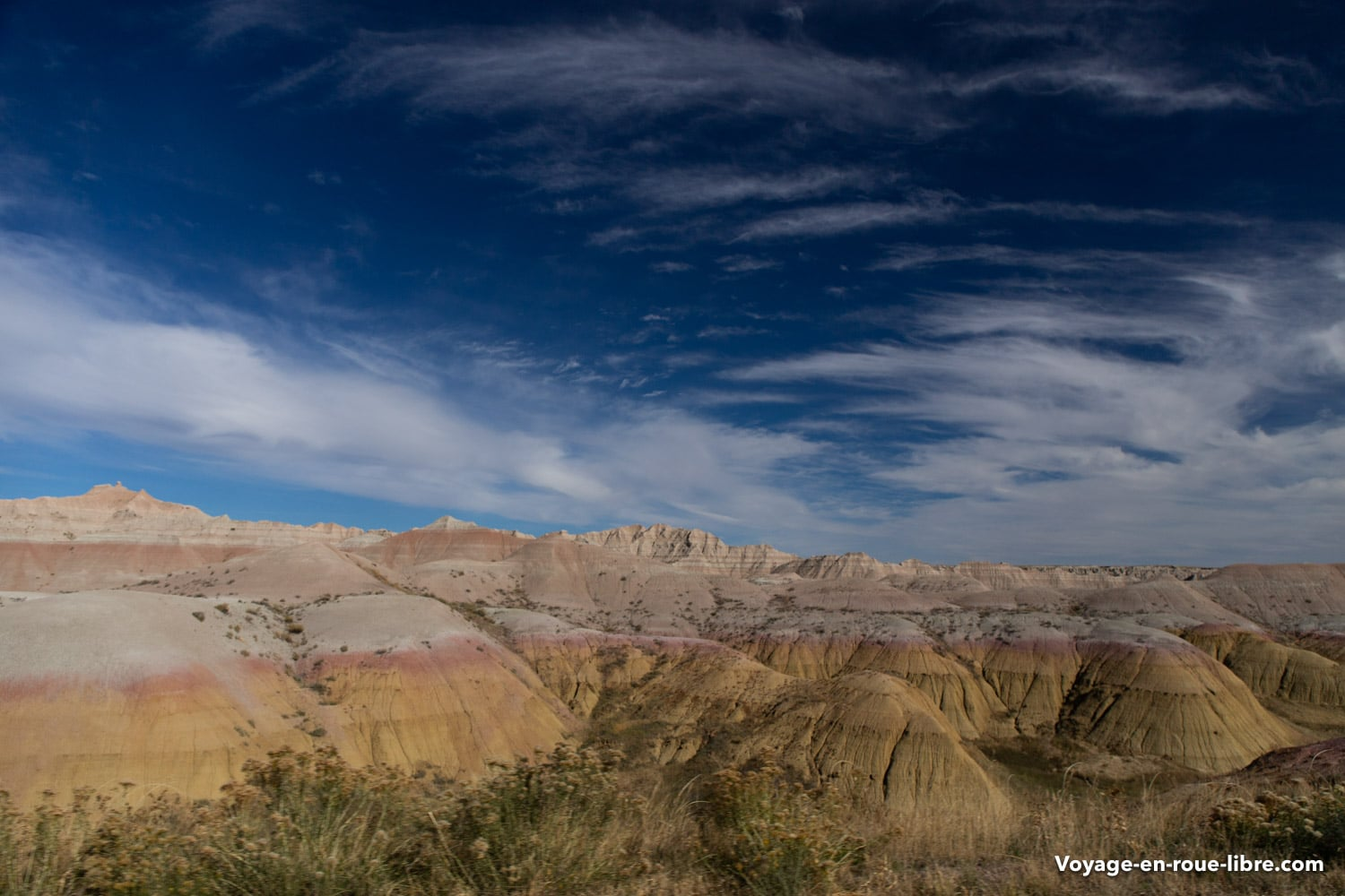 Parc national des Badlands - South Dakota