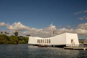 Le mémorial de l'USS Arizona à Pearl Harbor