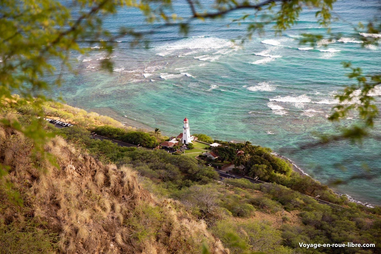 Côte de Oahu, à proximité d'Honolulu