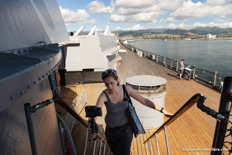 Un sac réutilisable pourra vous dépanner lors de votre visite de Pearl Harbor - Clem à bord de L'USS Missouri