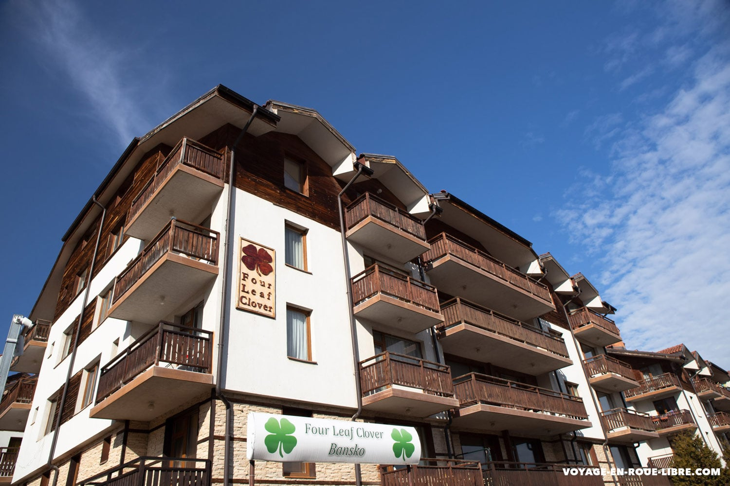 Un coliving pratique à Bansko : Le four Leaf Clover.