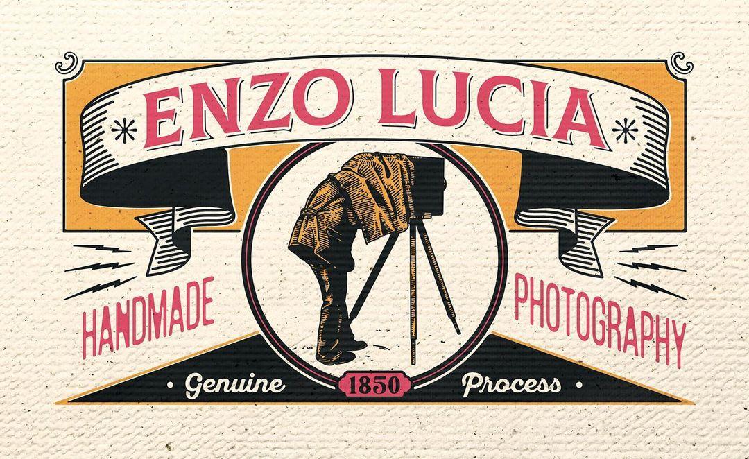 Le studio d'Enzo Lucia