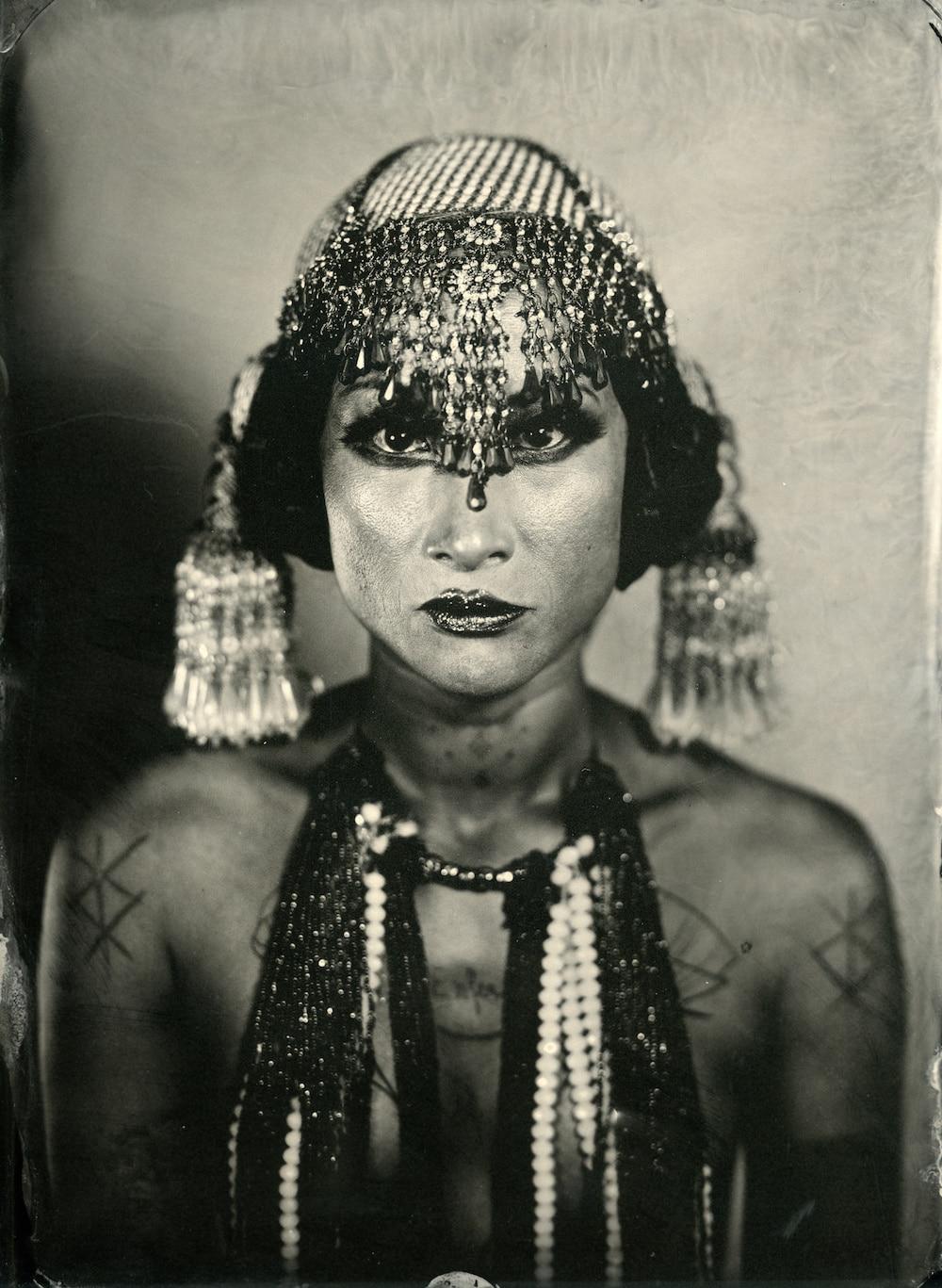 Enzo Lucia : des portraits au collodion humide qui ne vieillissent pas.