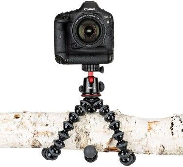 Le Gorillapod, un incontournable dans un tour du monde en photo et en vidéo.