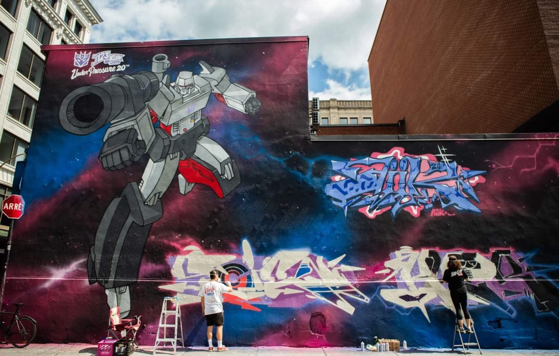 123 Klan sont des street-artistes qui voyagent autour du monde depuis plusieurs années - Digital nomad
