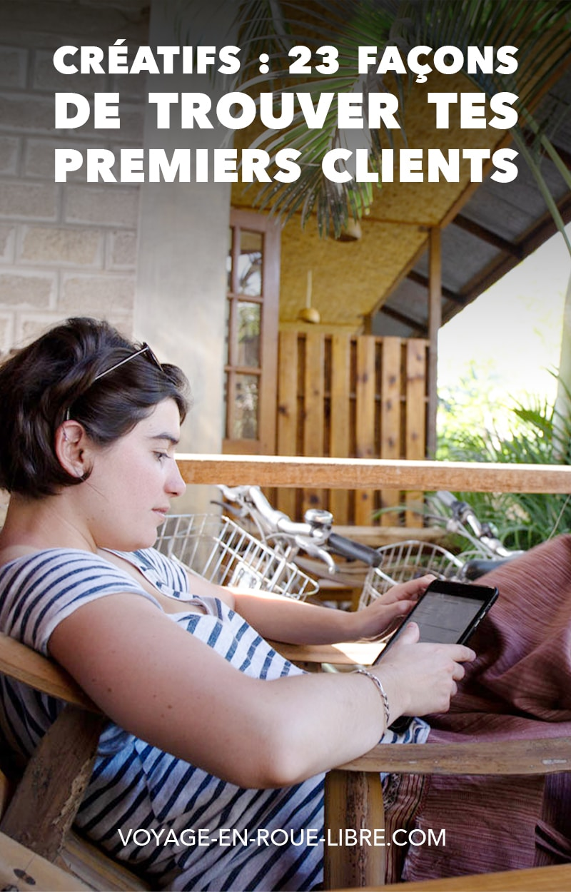 Tu meurs d'envie de te lancer en freelance ?   Chaque jour sur ta pause du midi tu cherches des idées pour le nom de ta future entreprise, tu gribouilles ton logo, tu cherches des idées...   Mais il y a une question qui t'obsède : comment trouver des clients en freelance ?   Comment trouver les tout premiers ?  #freelance #entrepreneur #trouverdesclients