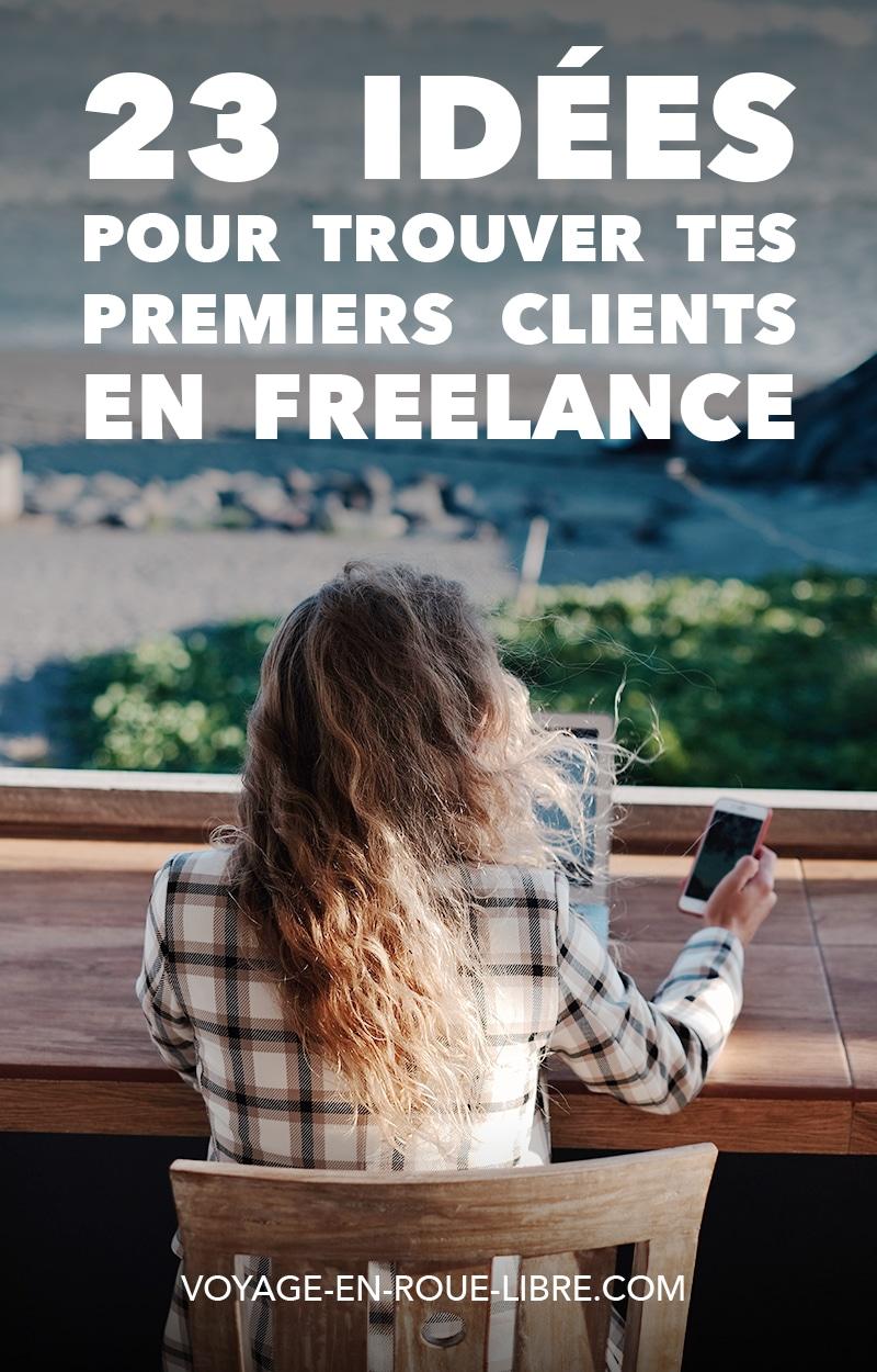 On t'a préparé 23 idées pour trouver tes premiers clients en freelance !   Tu as des idées pour le nom de ta future entreprise, tu gribouilles ton logo, tu cherches des idées...?  Mais il y a une question qui t'obsède tout le temps : comment trouver des clients en freelance ?   Alors comment les trouver ?  #freelance #entrepreneur #trouverdesclients