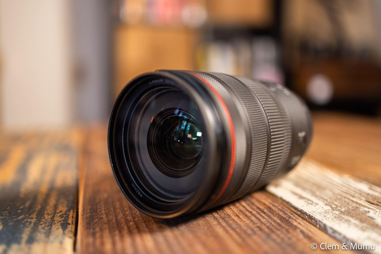 La Canon RF 24-70mm f/2.8, notre meilleur objectif pour un tour du monde.