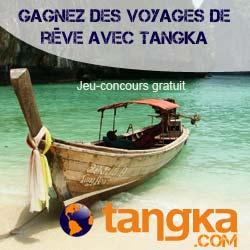 Gagnez des voyages avec Tangka !