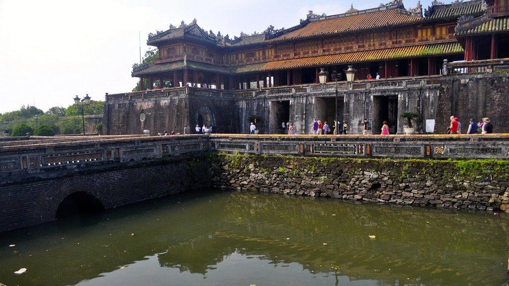 Porte de la citadelle impériale, Hué, Vietnam