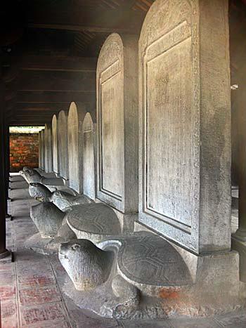 Les stèles Van Mieu honorées par l'UNESCO pour la deuxième fois