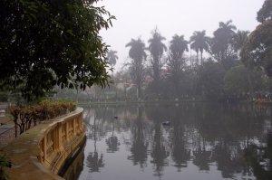 Parc du domaine d'Ho Chi Minh, Hanoï, mars 2012