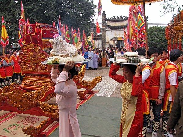 Fêtes des rois Hùng à Phú Thọ - Vietnam