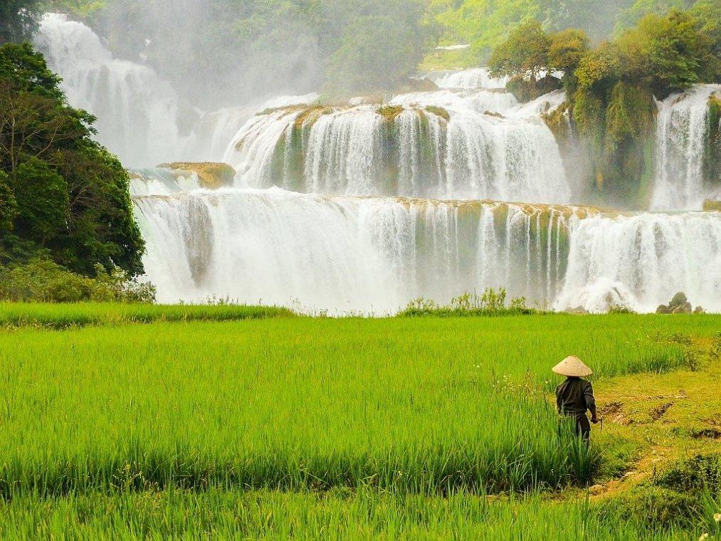 Cascade Ban Gioc, Vietnam