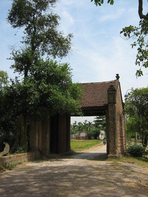 Village de Duong Lam par Jeannie Zakharov