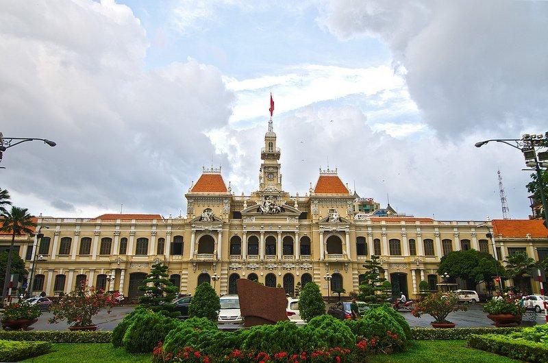 Hôtel de Ville - Hô Chi Minh Ville par [c]c.akom