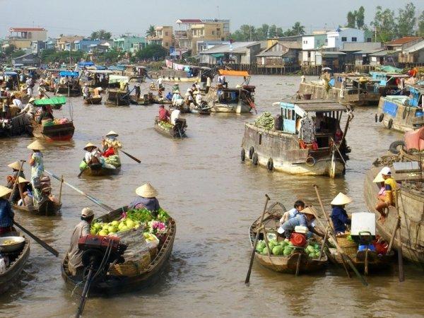 Marché flottant - Cai Rang par Uncornered Market