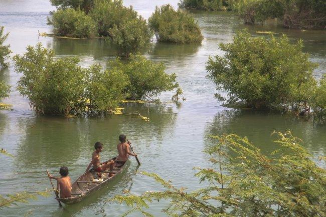 Mekong River par Michaël Garrigues