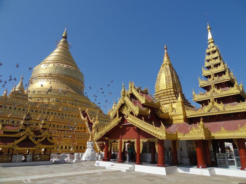 Shwezigon Pagoda par Matt Werner