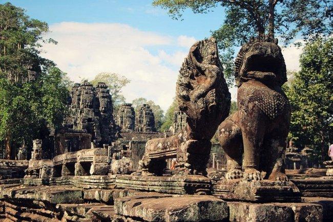 Angkor Thom par Daniel Martins