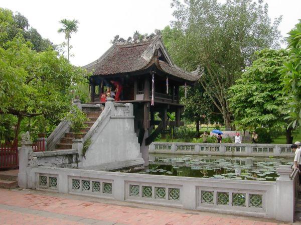 pagode au pillier unique par mattvn