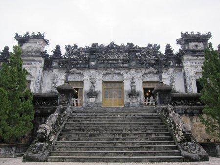 Le Mausolée de Khai Dinh - Hué, Vietnam