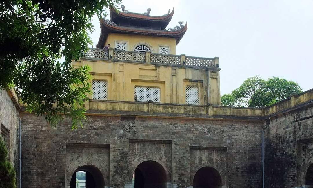 La cité impériale de Thang Long à Hanoï