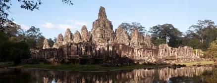 Angkor Thom, le Bayon - Cambodge