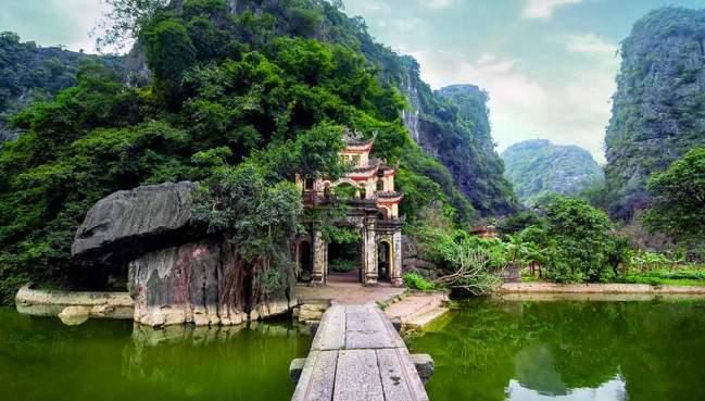 Pagode Bich Dong - Ninh Binh, Vietnam