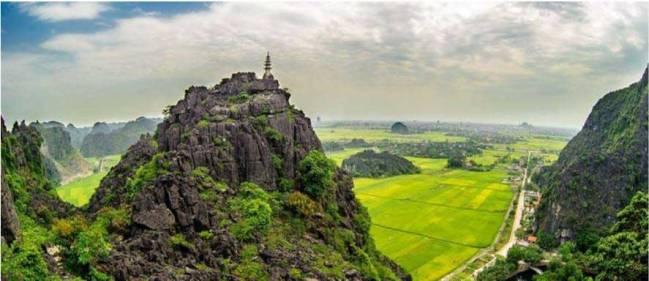 Paysage de Ninh Binh - Vietnam