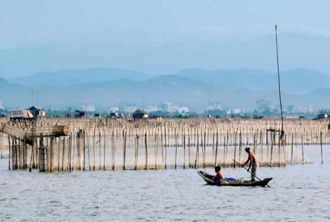 Tam Giang, pêcheurs - Vietnam