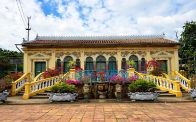 Les maisons centenaires du Delta du Mekong