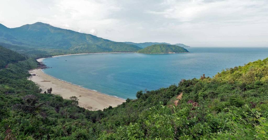 Danang, plage - Vietnam