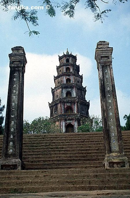Pagode Thien Mu, Hué - Vietnam