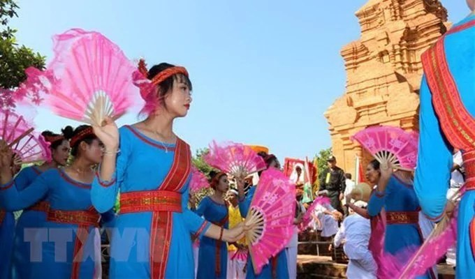 Fête Katê Cham - Phan Thiet, Vietnam