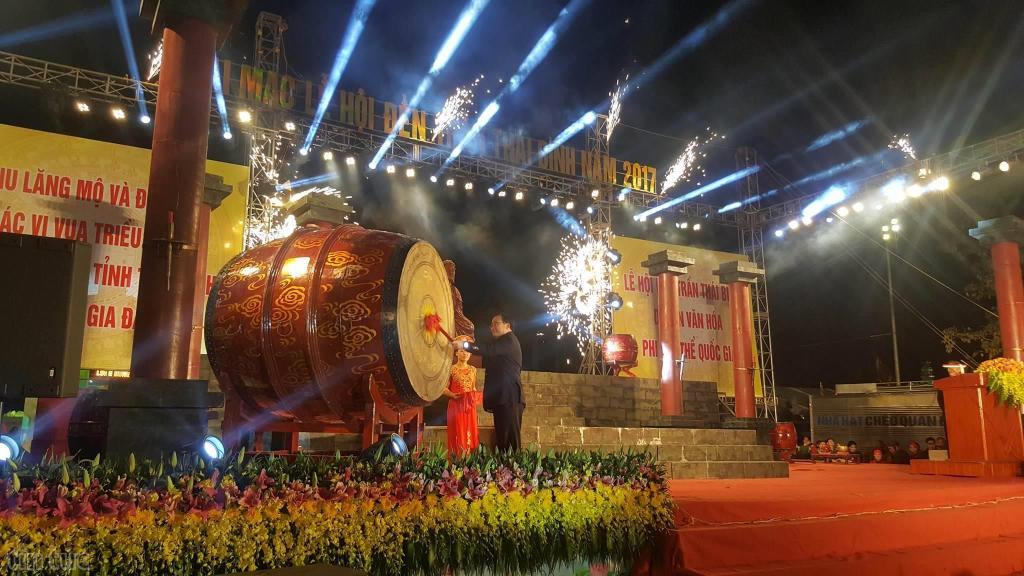 Fête des Rois Tran à Tam Duong, Vietnam