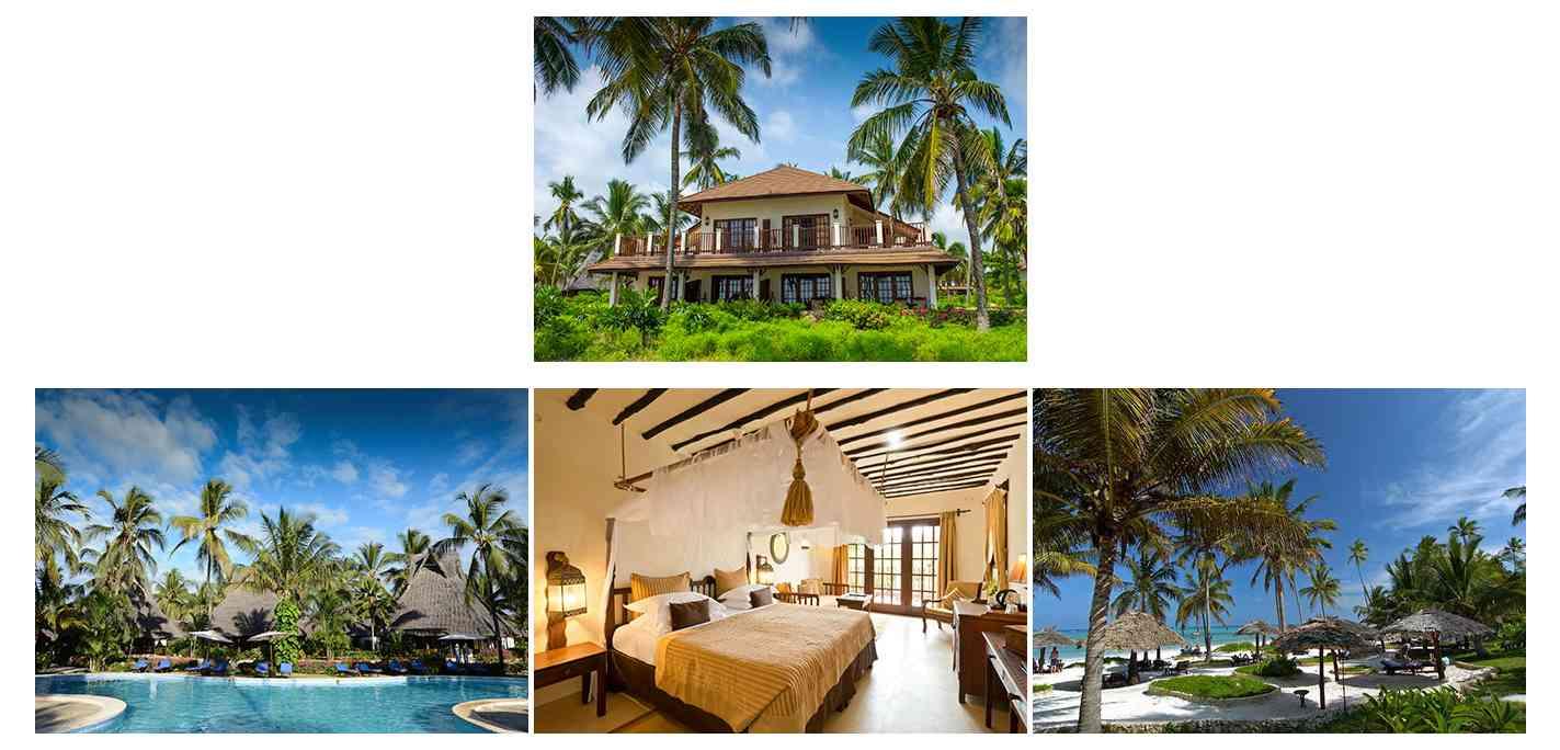 Breezes Club Hôtels côte ESt et Hôtels côte Nord de Zanzibar