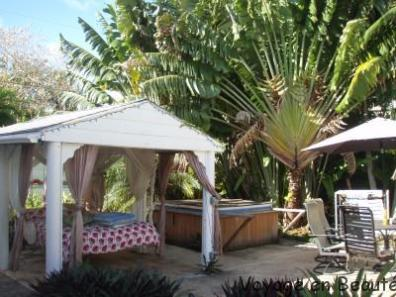 Jardin cottage Key West Airbnb