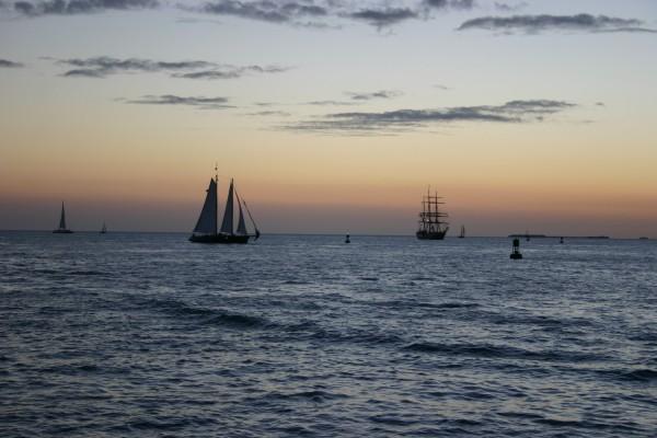 Coucher de soleil à Key West