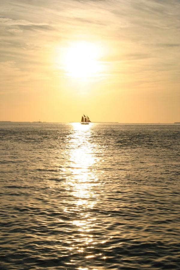 Coucher de soleil Key West par voyage en beauté