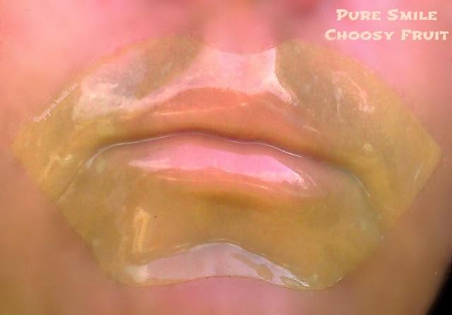 test-masque-lèvres-bouche-choosy-fruit-pure-smile