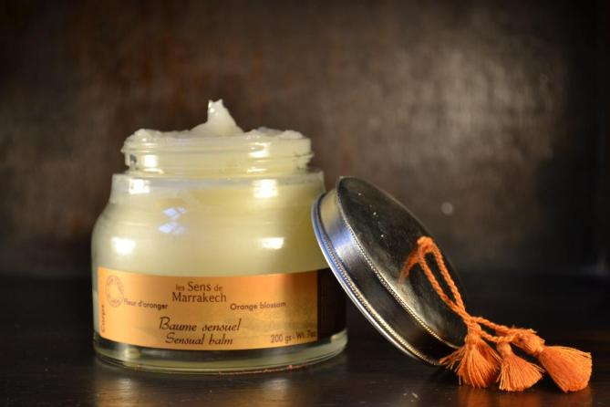 baume-sensuel-fleur-oranger-les-sens-de-marrakech-cadeau-maroc-gommage-hammam-avis-test