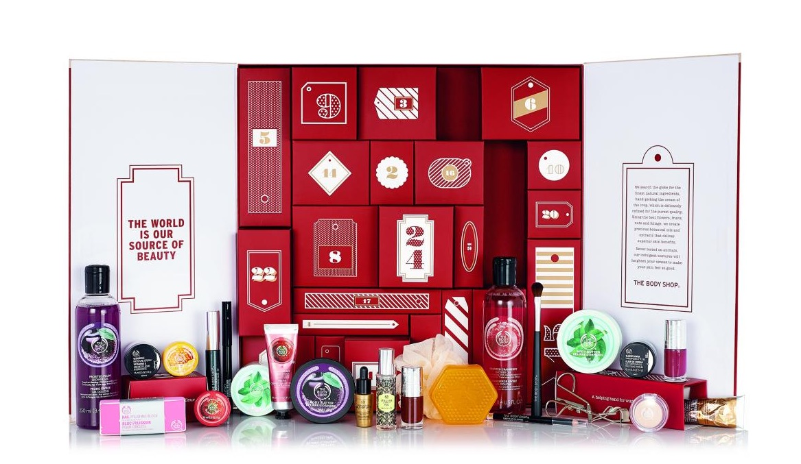 calendrier-avent-thebodyshop-cosmetique-beaute-noel-2015-idee-cadeau