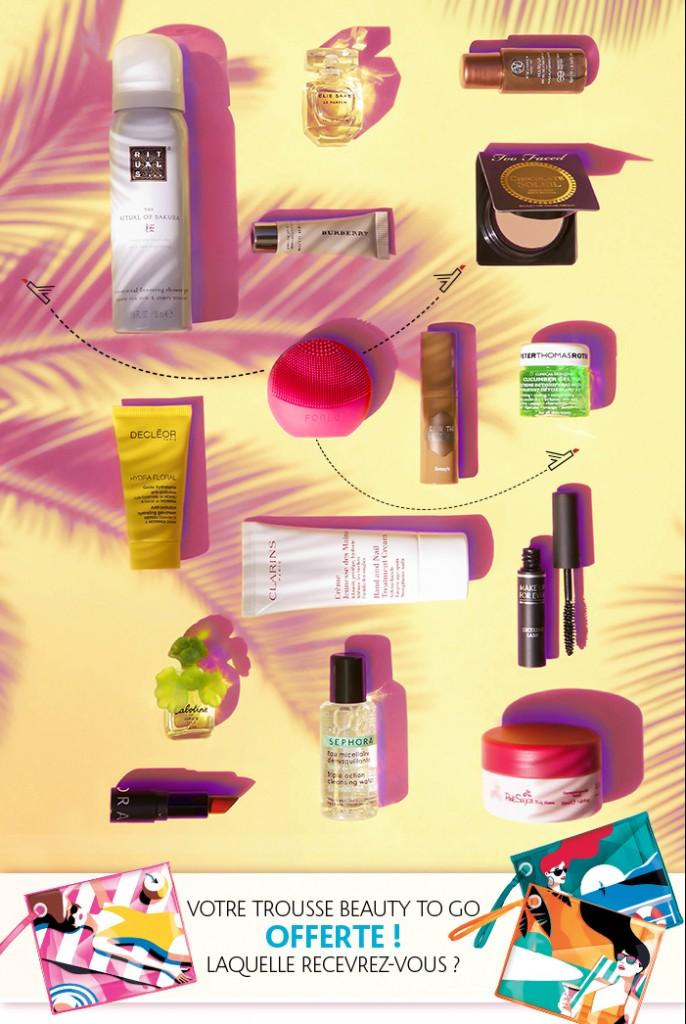 sephorabox beauty to go été 2016 contenu avis