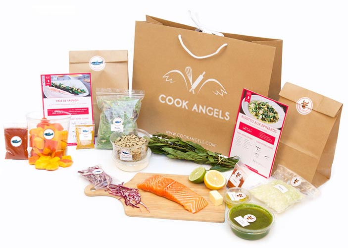 cook angels avis box food repas livraison domicile