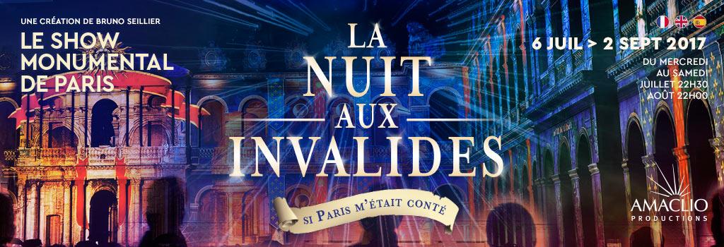 idee sortie spectacle la nuit aux invalides paris