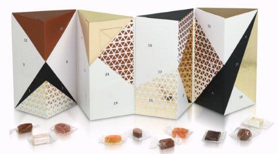 Le Calendrier de l'Avent gourmand chocolat comtesse du barry