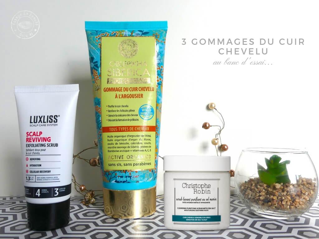 3 Gommages Pour Le Cuir Chevelu Au Banc D Essai Voyage En Beaute