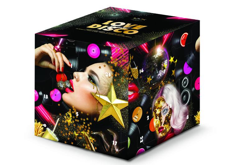 Calendrier de l'Avent Beauté 2019 NYX make up maquillage contenu prix promo
